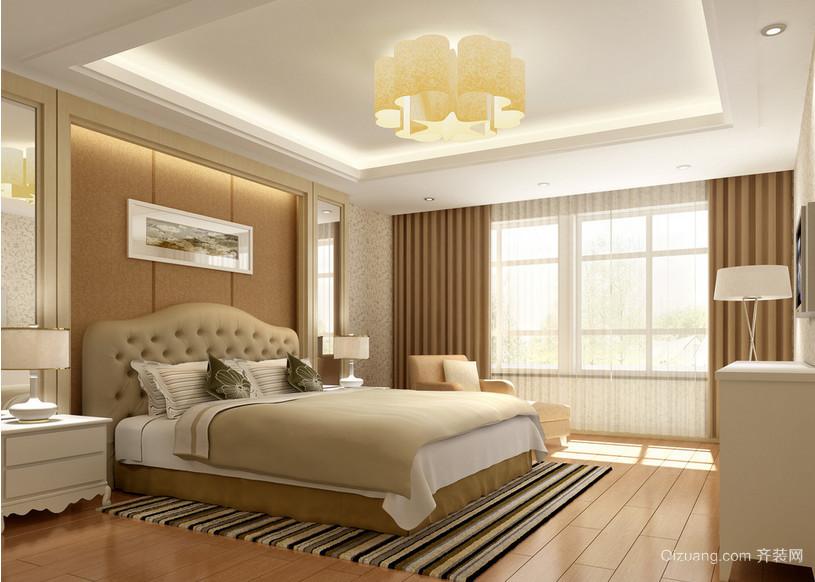 2016小户型宜家卧室装修效果图实例