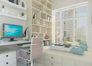 日式风格二居室精致榻榻米装修效果图
