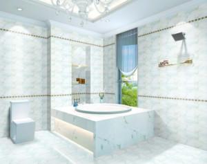大户型极致精美的欧式浴室吊顶装修效果图