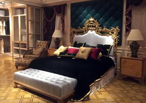 舒适大卧室巴洛克风格装修效果图