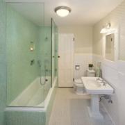 简欧风格精美的现代一居室卫生间装修效果图