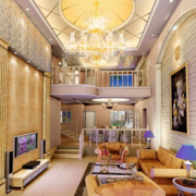 2016欧式别墅楼中楼装修效果图实例