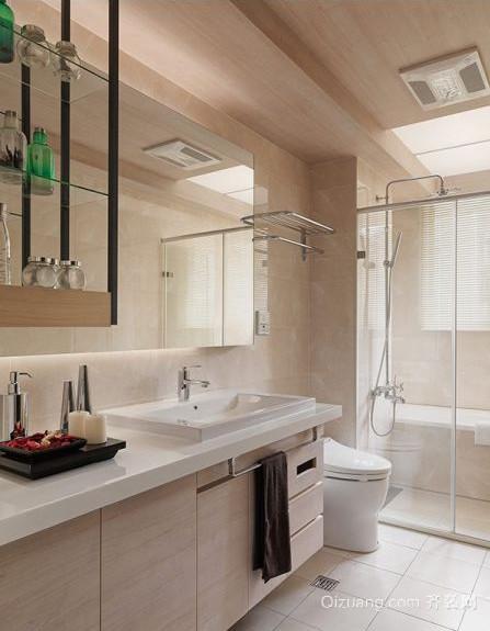 现代北欧风格二居室卫生间装修效果图欣赏