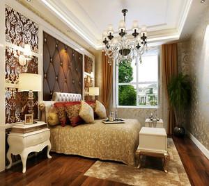 优雅大户型卧室巴洛克风装修效果图