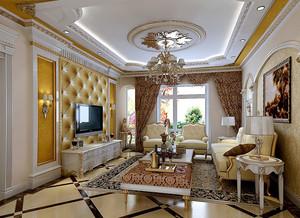奢华大户型客厅巴洛克风格家具装修图