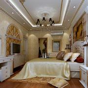 精致巴洛克风格33平米卧室装修效果图