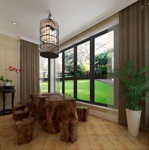 温馨中式两居室家居阳台装修效果图