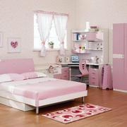 大户型粉色儿童房简欧风格设计效果图