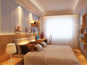 小户型日式风格卧室装修效果图实例