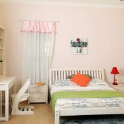 小女生韩式风格儿童房设计效果图