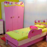 2016卡哇伊小户型儿童房朴素设计效果图