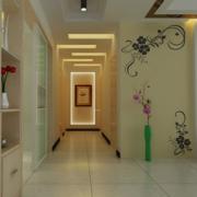欧式风格大户型室内走廊吊顶装修效果图