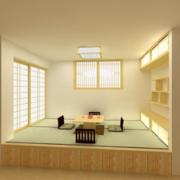 经典舒适小户型日式风格榻榻米装修效果图
