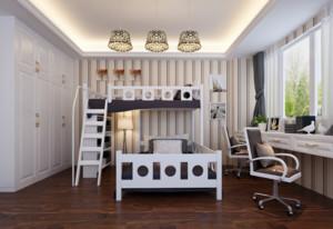 2016二居室欧式风格儿童房装修效果图鉴赏