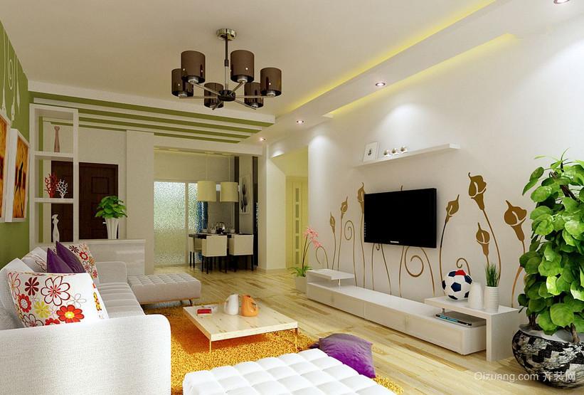欧式风格小户型室内装修设计效果图
