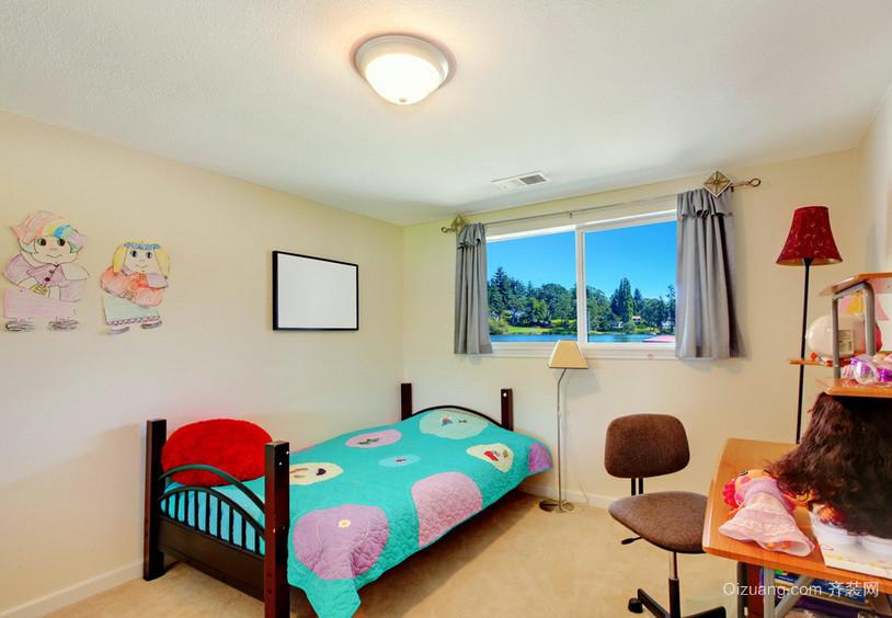 2016美式乡村风小型儿童房设计效果图