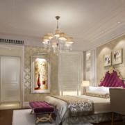 2016别墅型优美的后现代风格卧室装修风格