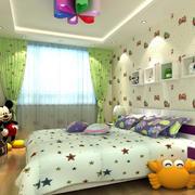 2016三居室韩式田园风儿童房设计效果图