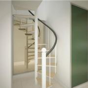 120平米欧式大户型室内楼梯装修效果图