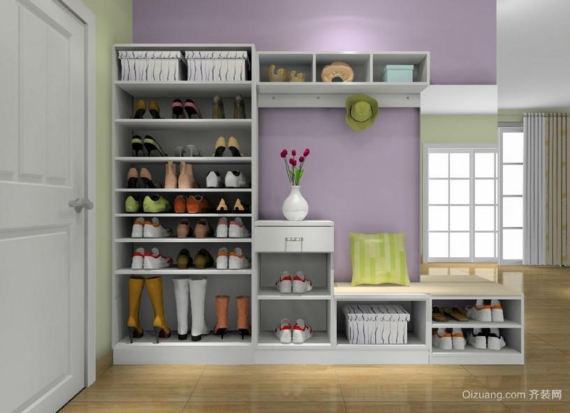 宜家便利的玄关鞋柜装修效果图
