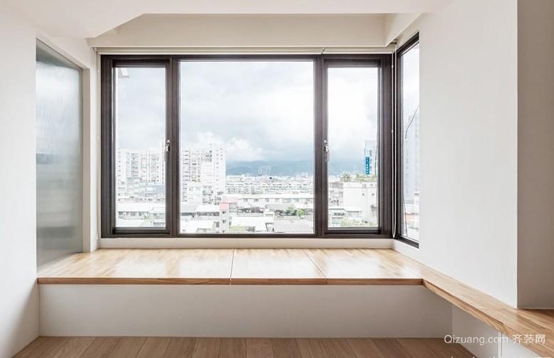 都市112平米新房飘窗设计效果图