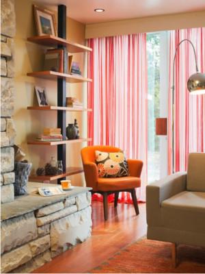 宜家欧式风格别墅型室内窗帘装修效果图