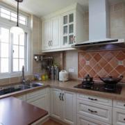 简欧风格别墅型精致的厨房装修效果图