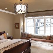 2016新古典卧室舒适飘窗设计效果图