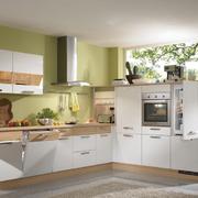 304平米小别墅厨房清新乡村风装修效果图