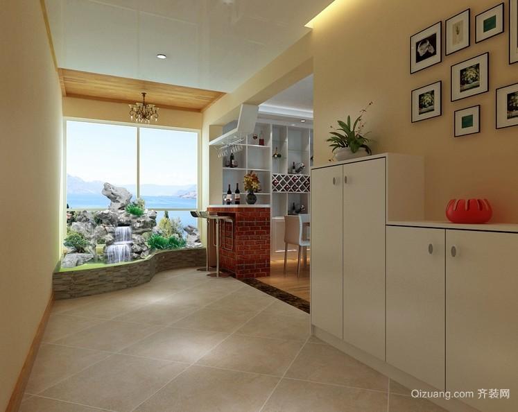 88平米两居室宜家鞋柜装修效果图
