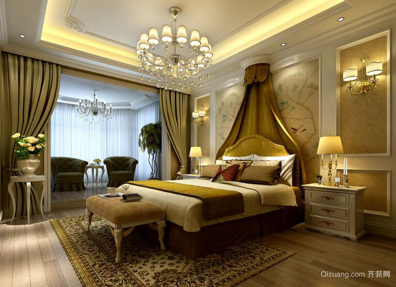 大户型120平米欧式风格卧室装修效果图