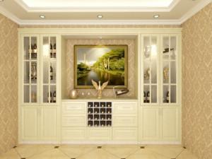 2016单身公寓欧式风格酒柜装修效果图