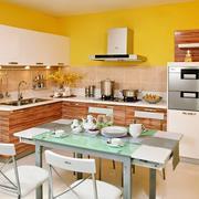 78平米小户型乡村风格厨房设计效果图
