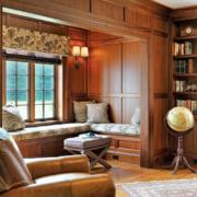 一居室美式风格室内飘窗装修效果图鉴赏