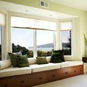 2016美式乡村风飘窗设计装修效果图