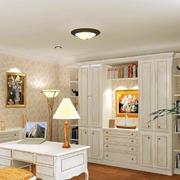 137平米家居简欧风格书房设计装修图