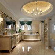 欧式风格小户型卫生间装修效果图鉴赏