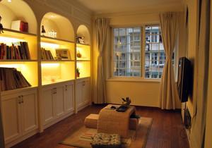 2016温和书房日式风格设计装修效果图