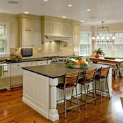 朴实自然复式楼厨房装修效果图大全