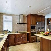 三室一厅新古典风厨房装修效果图大全