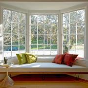 乡村小别墅舒适飘窗设计装修效果图