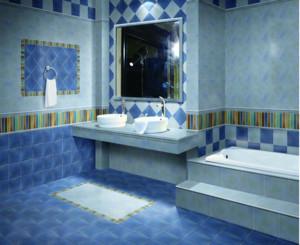 2016小户型欧式风格洗手间装修效果图