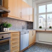 别墅北欧风格开放式厨房装修效果图鉴赏