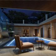 欧式风格大户型精致的阳台装修效果图