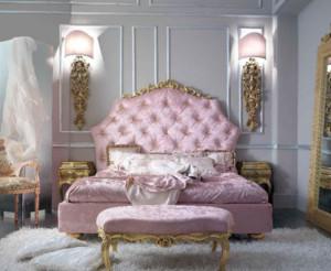 100平米巴洛克风格家庭卧室装修效果图鉴赏