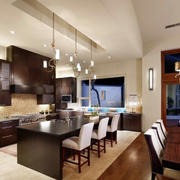 精美小复式楼东南亚风格厨房装修效果图