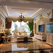 豪华大户型欧式客厅