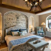 室内精美卧室背景墙