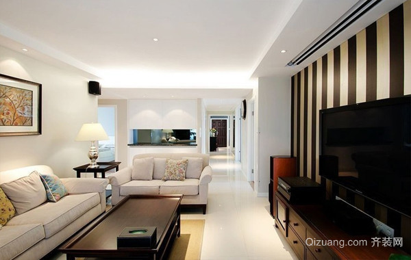 140平米现代简约风格新房装修效果图