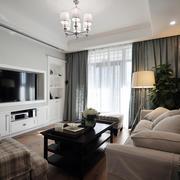两室一厅电视墙展示